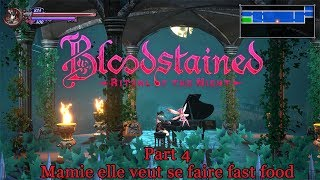 Bloodstained ritual of the night #4 : Mamie elle veut se fast food