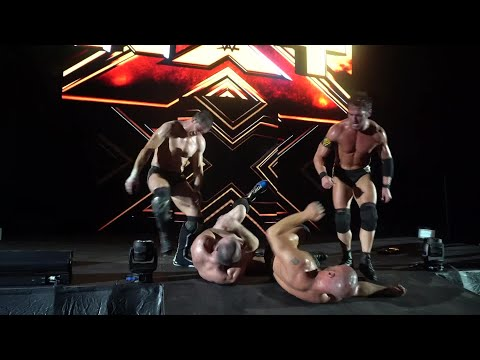 Undisputed ERA ambush Lorcan & Burch at NXT Live