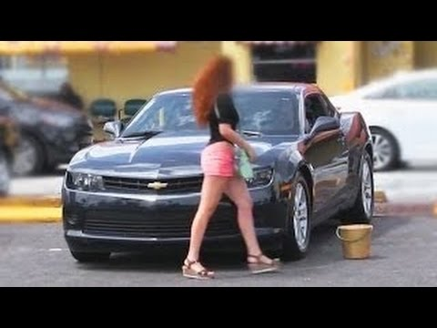 Gold Digger Prank - Girl Rejects Guy At Car wash