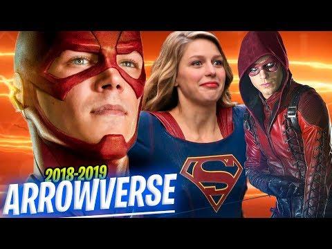 The Flash Temporada 5 Estreno - ARROWVERSE Fechas y Horarios (Temporadas 2018-2019) Supergirl Arrow thumbnail