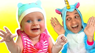 Peek a Boo Song | Maya and Mary Nursery Rhymes & Kids Songs