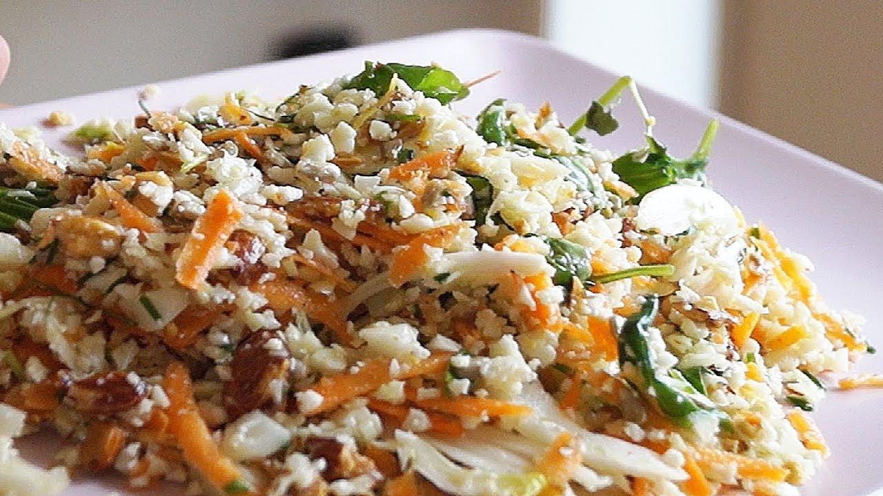 Салат из цветной капусты рецепты быстро и вкусно с