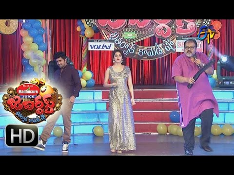 Jabardasth – 31st December 2015 - Tarun,Sekhar Master,Sadha, Entry in New Year Celebrations thumbnail