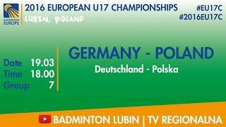 Германия до 17 : Польша до 17