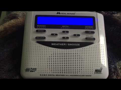 NOAA Weather Radio Baltimore/Washington 4/26/2016