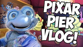 Early Preview of PIXAR PIER!