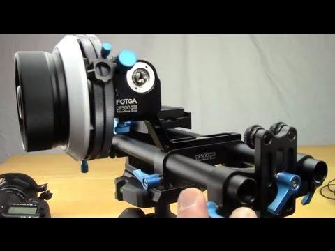 Fotga DP500-2 Follow Focus & Rails Reviewed - DSLRnerd.com