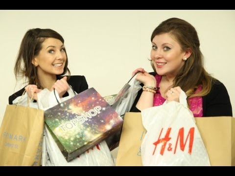 ZOE AND LOUISE: DATE NIGHT SHOPPING HAUL