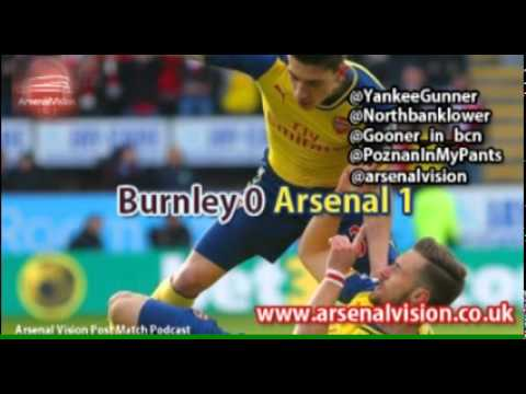 Arsenal Vision Post Match Podcast - EP28: Burnley 0 Arsenal 1 - Ramsey smashes early winner