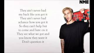 Justin Bieber - We Are ft Nas Lyrics
