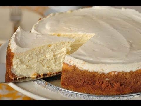 New York Cheesecake Recipe Demonstration