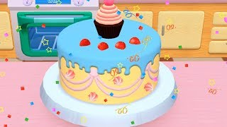My Bakery Empire | Baby Play Fun Bake, Decorate, Serve Cakes - Learn Colors Cake Maker Kids Game