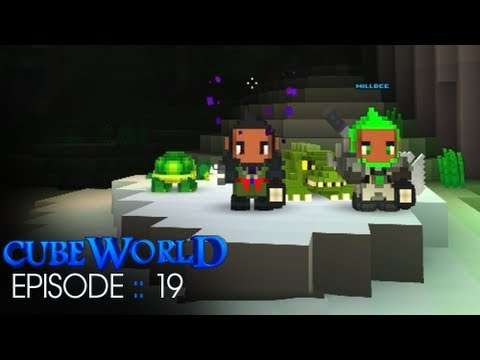 Cube World :: Episode 19 :: Farming with Millbee