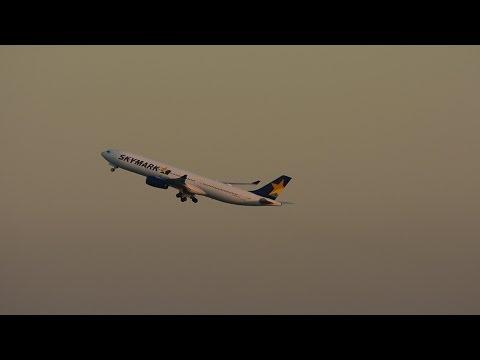 ☆スカイマーク (Skymark Airlines)A330☆ANA Boeing 787-8 Dreamliner ☆Takeoff Haneda RWY05!! 羽田空港!!