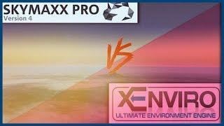 [X-Plane 11]  SkyMaxx Pro V4 vs Xenviro.Which is better?