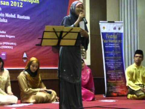 Sambungan... Finalis Sayembara Puisi Warisan (gurindam, Syair & Nazam) 2012 video