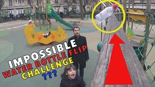 WATER BOTTLE FLIP CHALLENGE EXTREME en FAMILLE #2 • KALYS vs ATHENA vs MICKAËL - Studio Bubble Tea