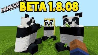 Minecraft 1.8 Beta - ALL NEW FEATURES! (Pandas, Scaffolding, Bamboo)