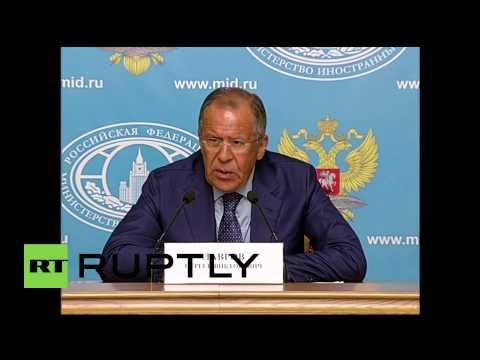 "Russia: Lavrov says ""Russia will defend their position on Yukos ruling"""