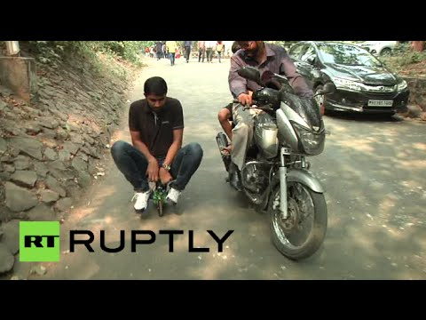 World's smallest electric motorbike goes on display in India