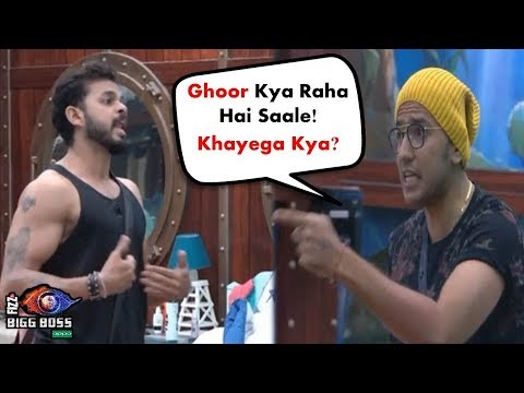 Bigg Boss 12: Watch Romil Chaudhary And Sreesanth Ugly Fight For Urvashi Vani | BB 12