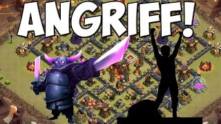 CLAN WAR - ICH GREIFE AN! || CLASH OF CLANS || Let