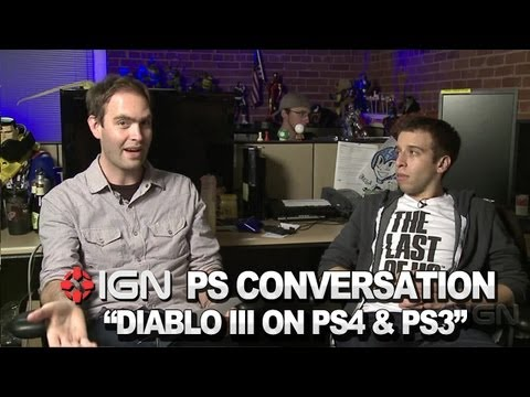 Diablo III on PlayStation 3 and 4 - PlayStation Conversation
