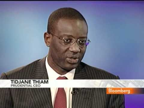 Thiam Says Prudential Is `Riding Wave' in U.S. Pensions