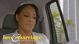 Kimmi Stays Positive Despite Bad Weather on Her Wedding Day | Love and Marriage: Huntsville | OWN