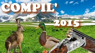 COMPILATION CHASSE PETIT GIBIER 2015 HUNTING BEST OF