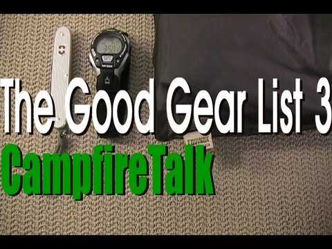"The Good Gear List 3 ""Budget Friendly"""
