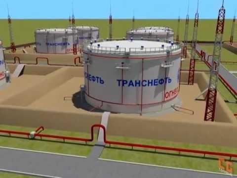Oil tank farm - Резервуарный парк