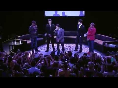 Backstreet Boys Celebration of 20 Years Live Streaming iGoHD Part I