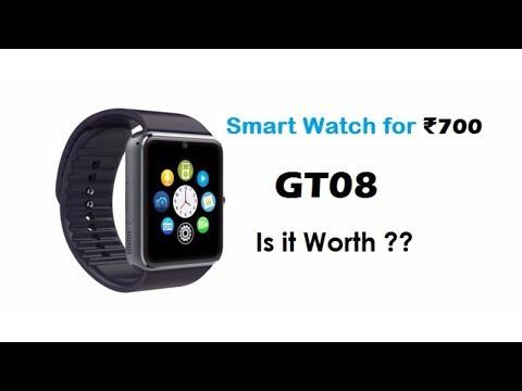 Cheap Smartwatch #1 GT08 Unboxing|Review|Tune2Tech