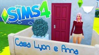 CREIAMO LA VERA CASA DI LYON E ANNA SU THE SIMS 4!