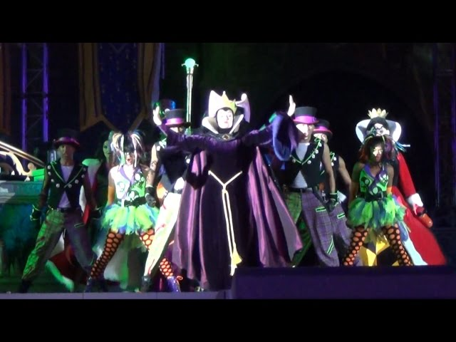 NEW Villains Mix & Mingle Live, Mickey's Not So Scary Halloween Party 2014 - Changes & Finale