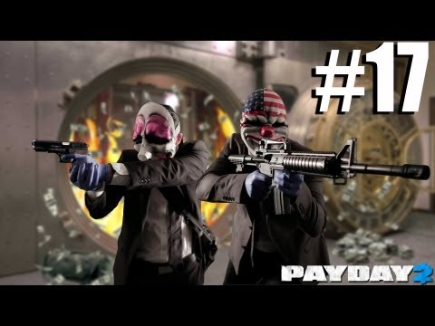 Payday 2 Walkthrough The Elephant - The Framing Frame Part 4 - Day 3