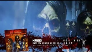 KRUDO - Alone in my Funeral (Lyric video)