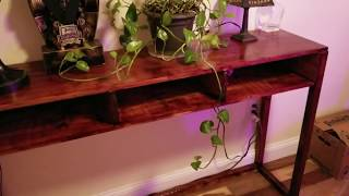 RUSTIC CONSOLE TABLE REVIEW