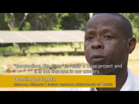 Creation of renewable energy-based mini-grid industries in Guinea-Bissau - EN
