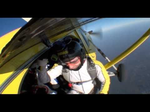 Pescegatto and friends skydiving