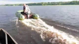 Покатушки всех моторов на лодках пвх видео
