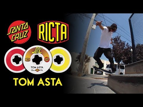 Quick ledge work | Tom Asta Ricta x Santa Cruz Slix