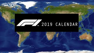 Formula 1 2019 Season | Official Race Calendar & Dates