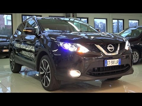 2014 Nissan Qashqai 1.5 dCi Tekna Start Up, Test Drive and in Depth Look