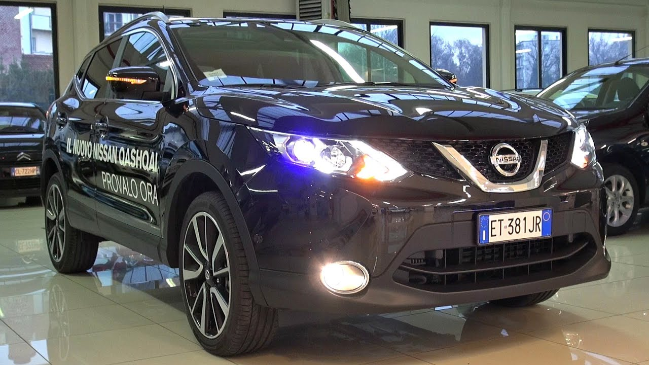 2014 Nissan Qashqai 1.5 dCi Tekna Start Up and in Depth ...