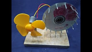 Free Energy Generator With Magnet Using Fan New Technology Generator Science Project