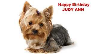 Judy Ann   Dogs Perros - Happy Birthday
