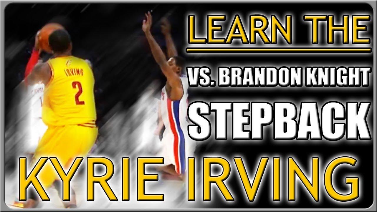 Kyrie Irving VS. Brandon Knight Crossover Stepback Move: Basketball ...