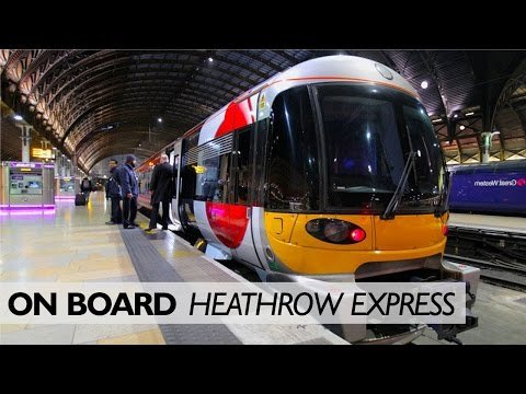Heathrow Express: Secret Platforms And The View From The Cab
